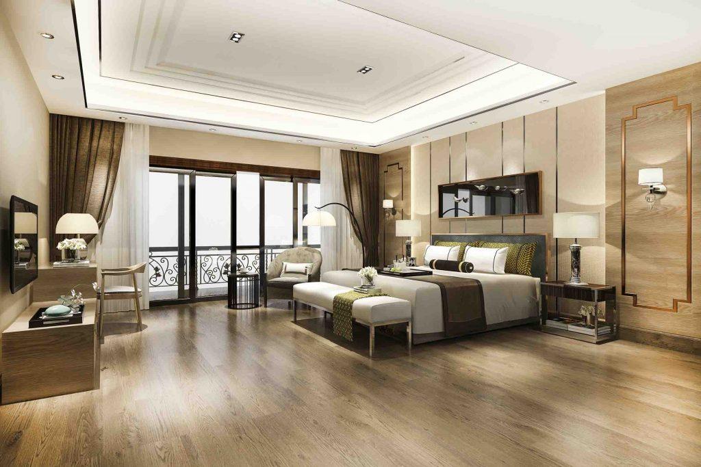 Arredamento tessile hotel Milano