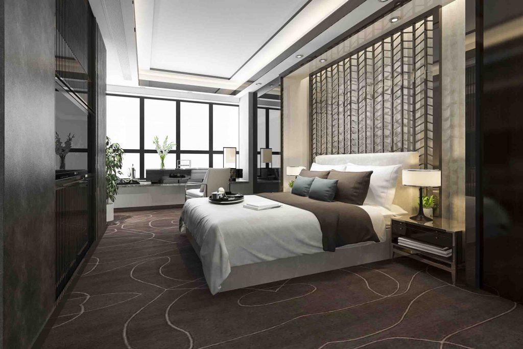 Suite hotel arredamento Milano